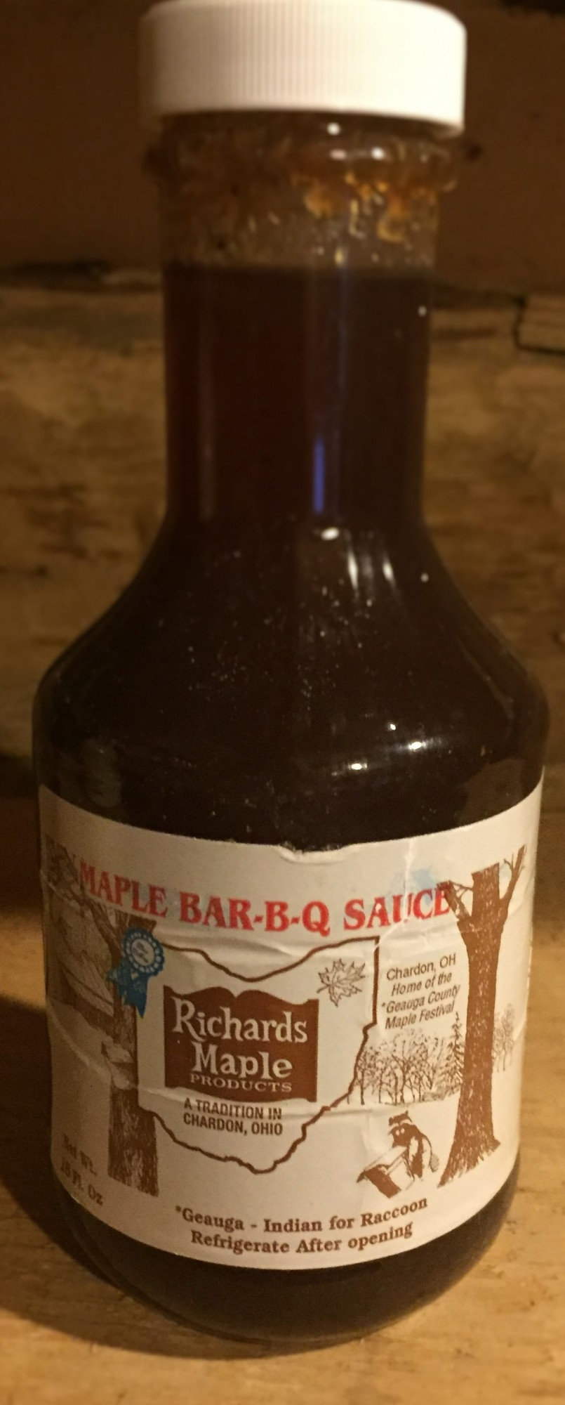 Maple Bar-B-Q Sauce