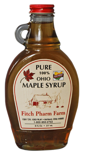 Maple Syrup 8 ounce Flask