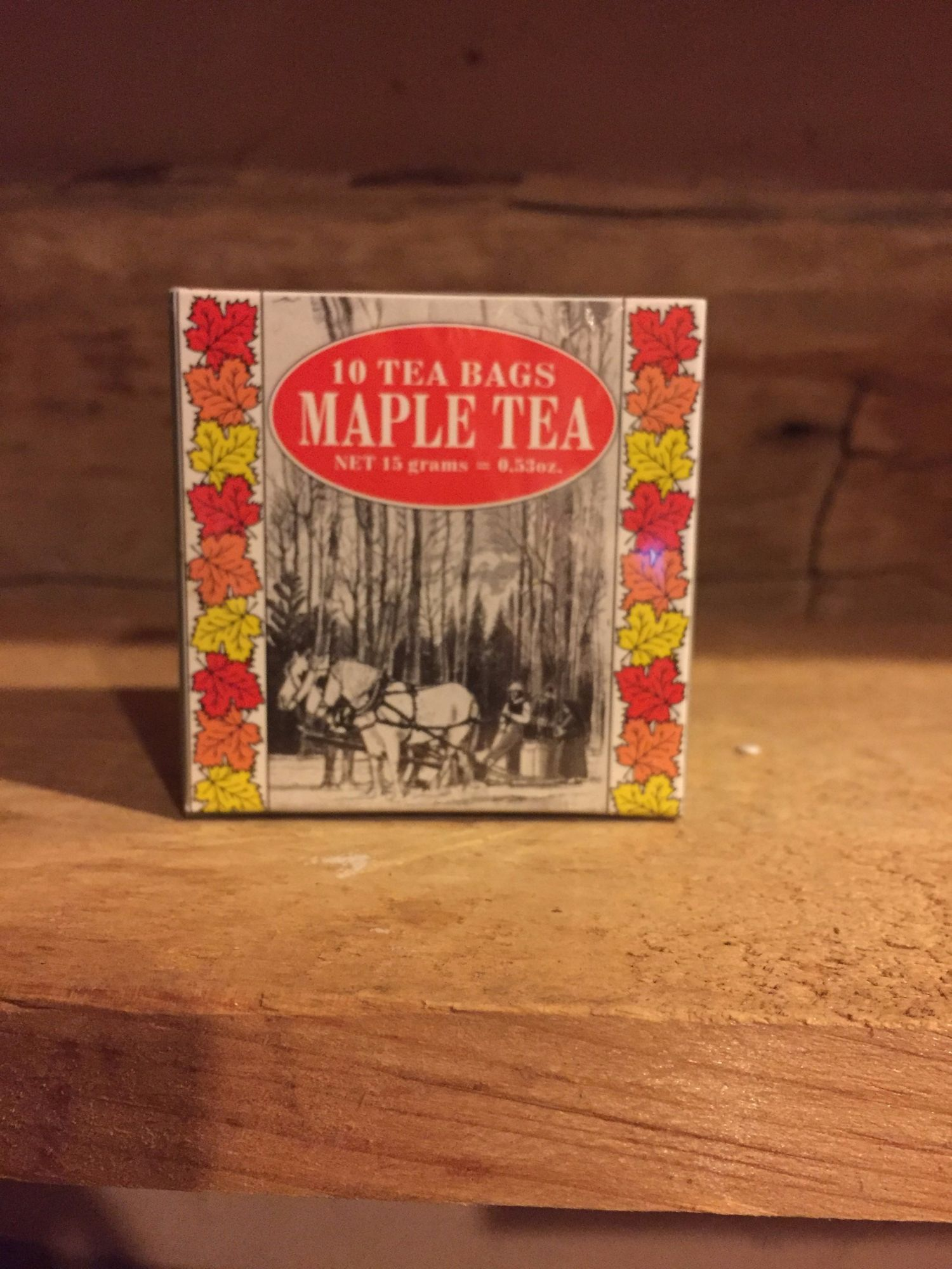 Maple Tea Small Box