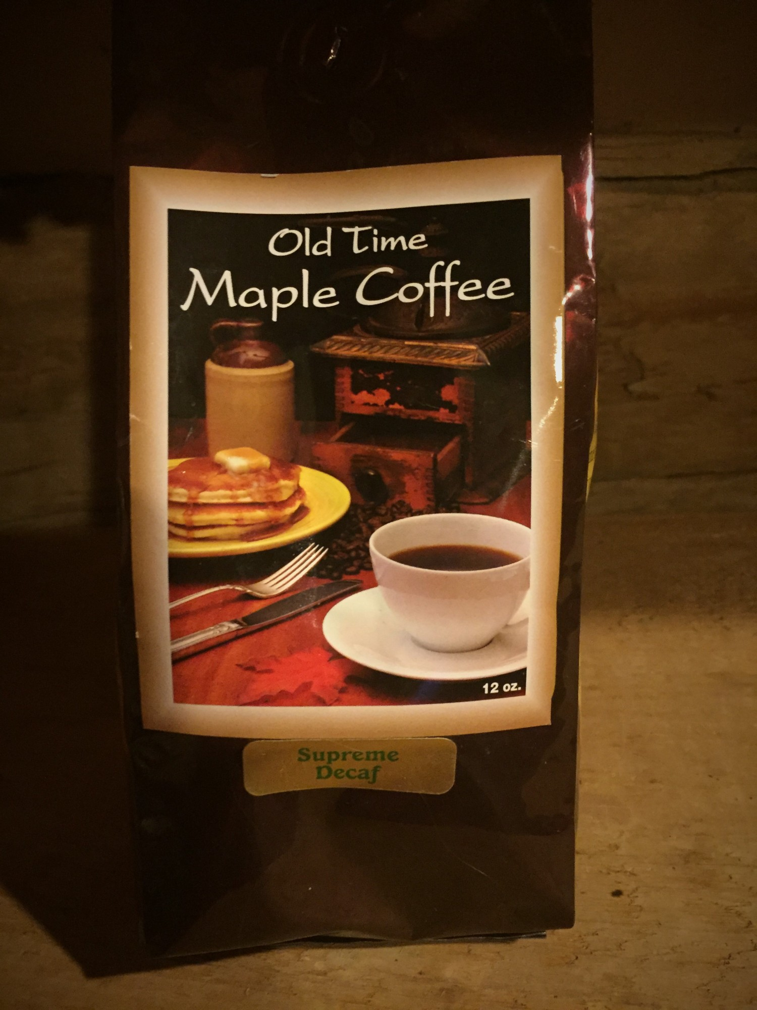 Maple Coffee Full Size - Decaf